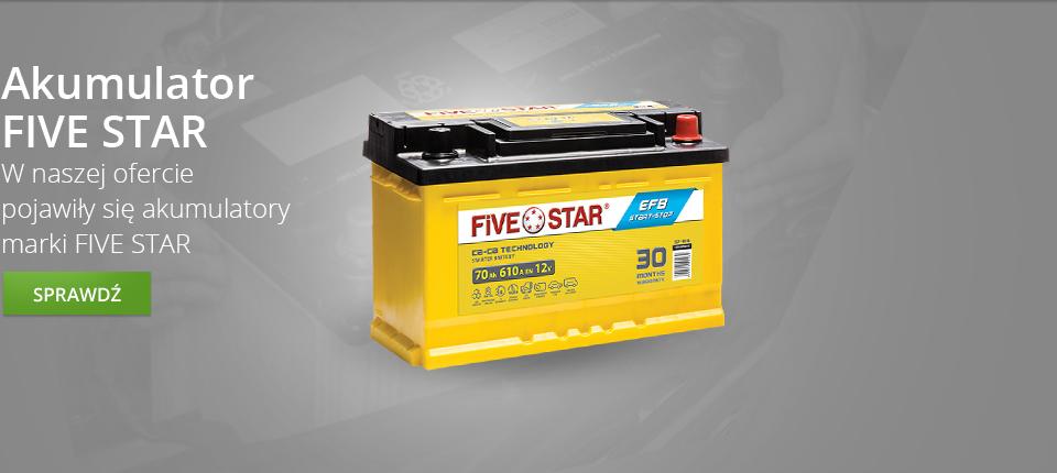 Akumulator Fivestar
